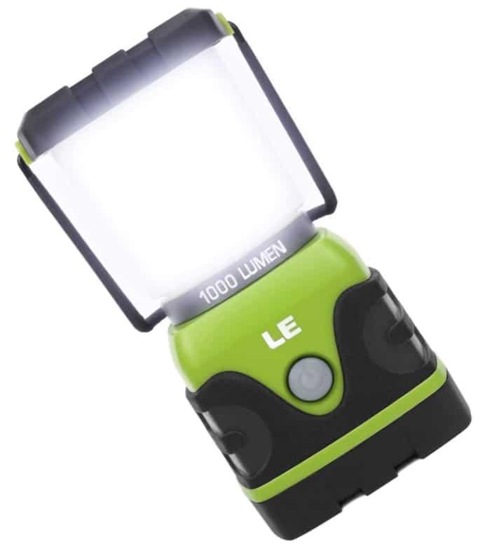 1000 lumens battery LED lantern