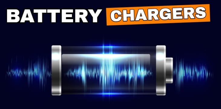 Flashlight battery chargers