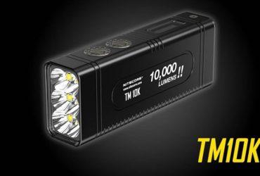 Nitecore TM10K 10000 bright lumens