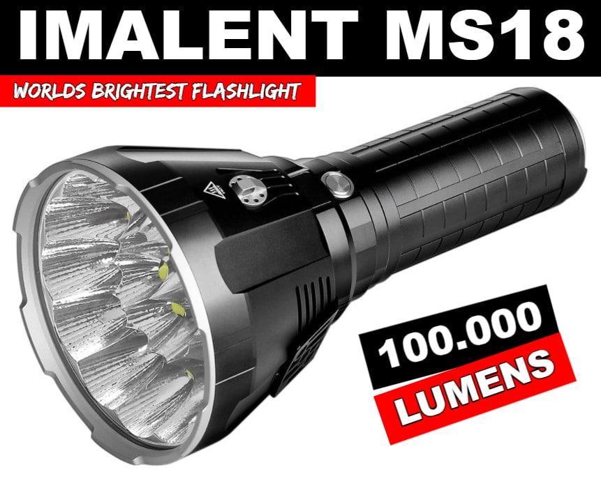 Brightest flashlight in the world