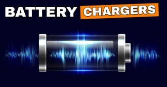 Chargers for flashlight batteries