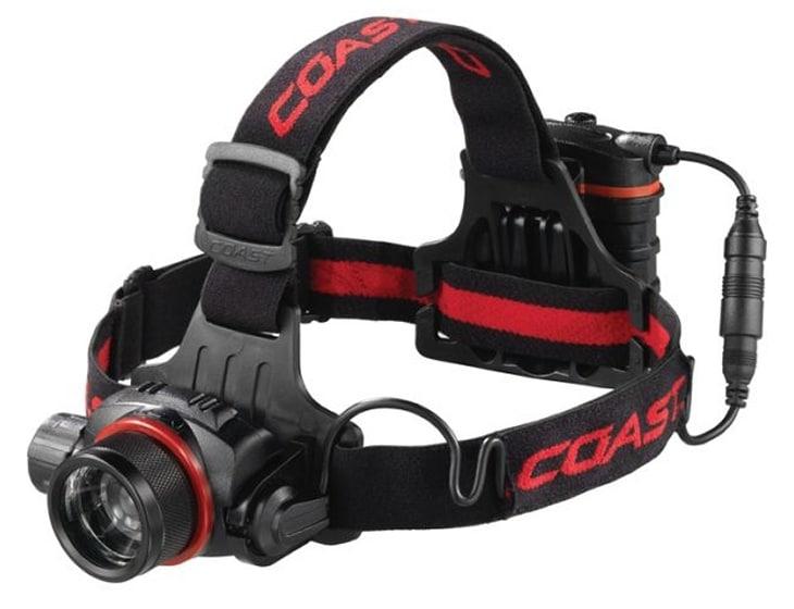 Coast HL83 800 lumens headlamp
