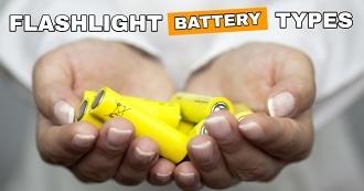 Flashlight battery types
