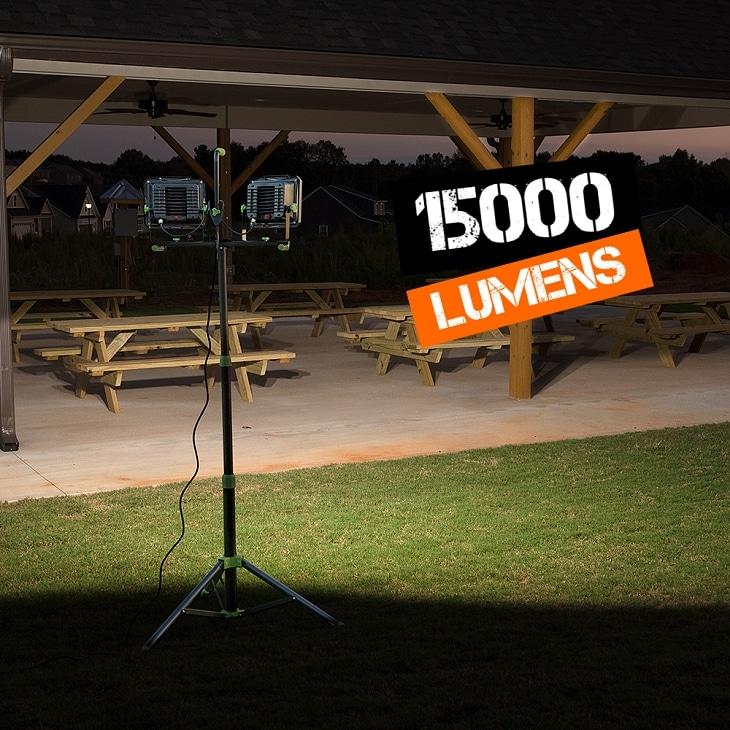 PowerSmith 15000 lumens work light