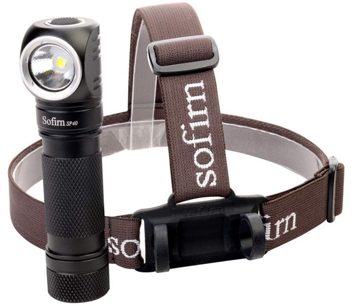 Sofirn SP40 1200 lumens headlamp